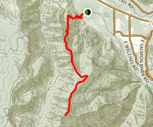 Huckleberry Mountain Trail Map