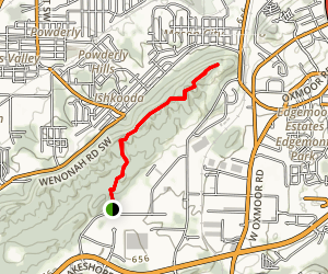 Grace's Gap Overlook Map
