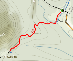 Blakiston Falls Trail Map