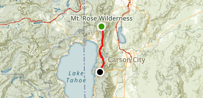 High Adventure Bike Trail Map