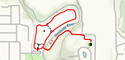 Sandusky River Stepping Stone Trail Map