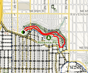 Ravenna Creek Trail Map