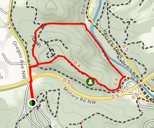 Rock Creek Park Historical Loop Map