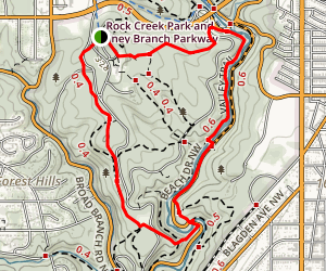 Boulder Bridge Loop Map