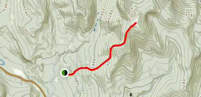 Mount Moosilauke via Glencliff Trail and Appalachian Trail Map