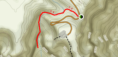 Cliff Springs Map