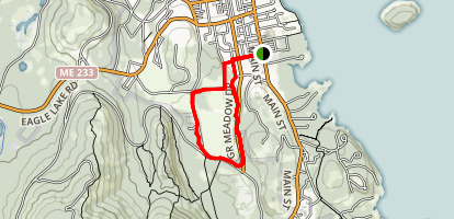 Great Meadow Loop Trail Map