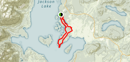 Hermitage Point Trail Map