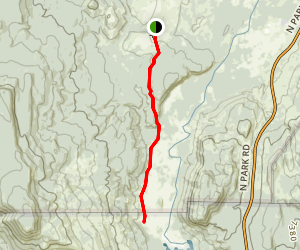 Glade Creek Trail Map