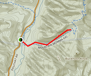 Brushy Hollow Trail Map