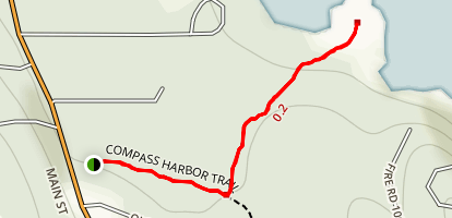 Compass Harbor Trail Map