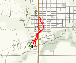 Stromsburg Trail Map