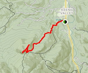 Rooster Comb Trail Map