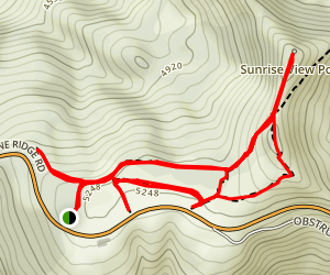 Cirque Rim Nature Trail Map