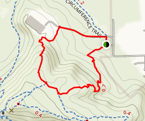Palisade to Basalt to Circumference Trail Loop Map