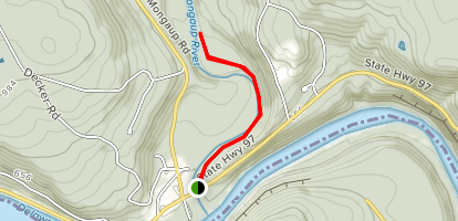 Mongaup River Trail Map