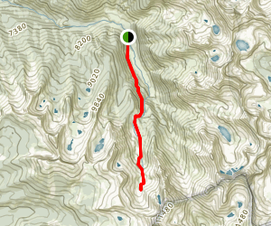 White Chief Canyon Trail  Map
