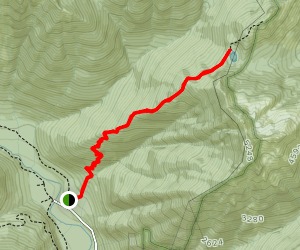 Wagonwheel Lake Trail Map