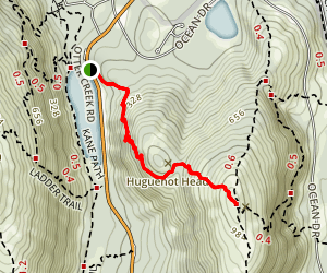 Beachcroft Path Trail Map