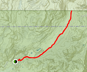 Slough Creek Trail Map