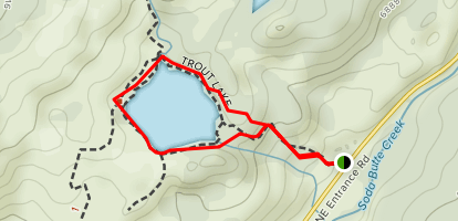 Trout Lake Loop Map