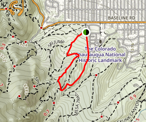 Bluebell Mesa Loop Map