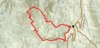 Sepulcher Mountain Trail Map