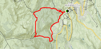 Clagett Butte - Snow Pass Loop Map
