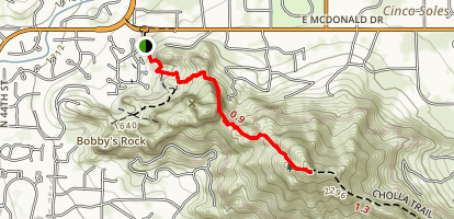 Echo Canyon Summit Trail Map