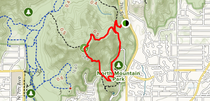 North Mountain National Trail Map