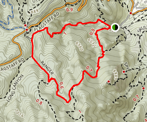 Gregory Canyon Trail Map