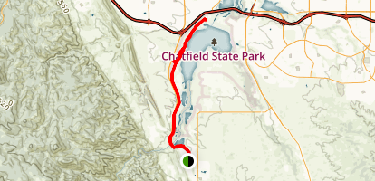 Chatfield Wetlands Map