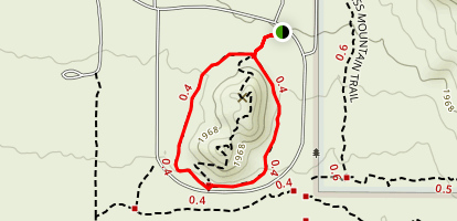 Merkle Memorial Trail Map