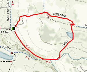 Sage and Eagle Trail Loop Map