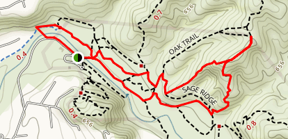 Windes Nature Trail and Pacifica Loop Map