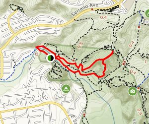 Windes Nature Trail and Pacifica Loop [CLOSED] Map