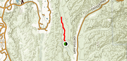 Bell Canyon Trail Map