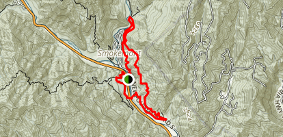 Tow String Trail Map