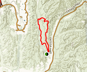 East Ridge Bell Canyon Loop Trail Map