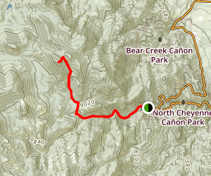 Garfield Trail Map