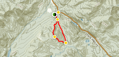 Noonmark Mountain Trail Map