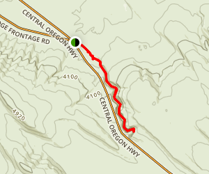 Dry River Gorge Trail Map