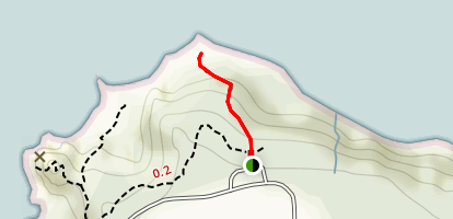 Mussel Rocks Trail Map