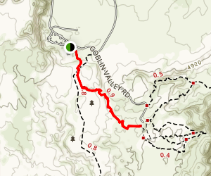 Entrada Trail Map