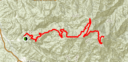 Harding Truck Trail Map