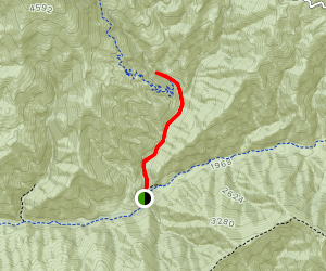 Holy Jim Canyon Trail [CLOSED] Map