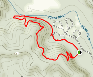 Eagle Bluff Trail Map