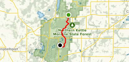 Ice Age Trail Northern Unit Wisconsin Alltrails