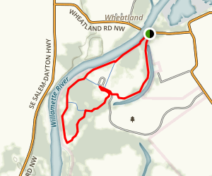 Willamette Mission Trail Map