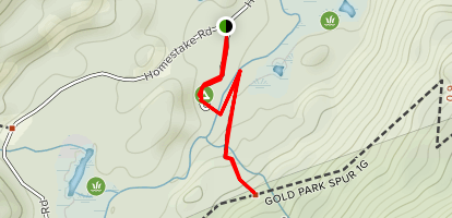 Gold Park Campground Map